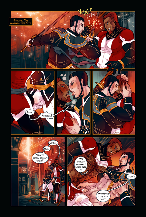 ACE OF BEASTS #1 page 1