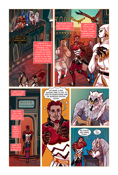 SWORD KINGS #1 page 9