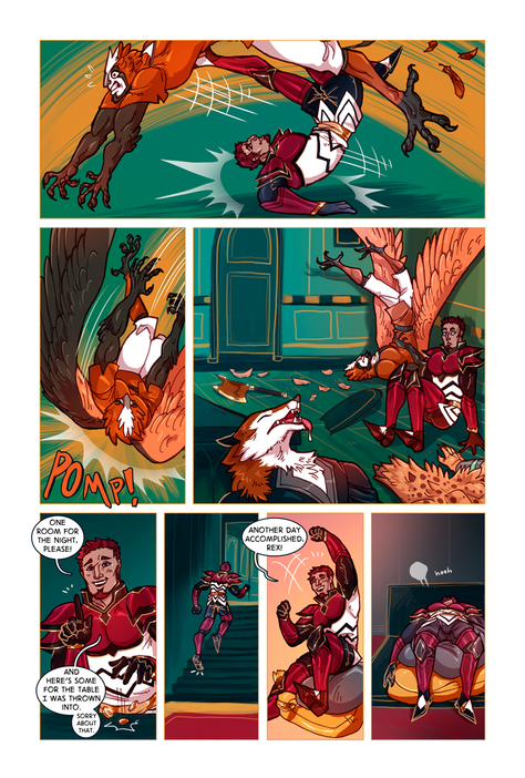 SWORD KINGS #1 page 13