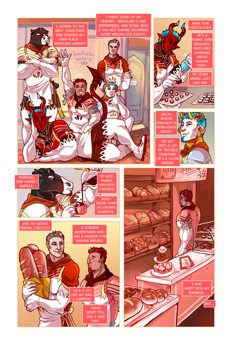 SWORD KINGS #1 page 3