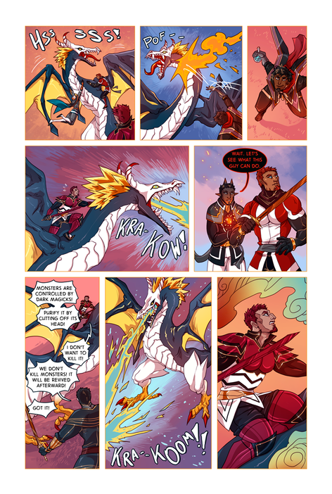 SWORD KINGS #1 page 28