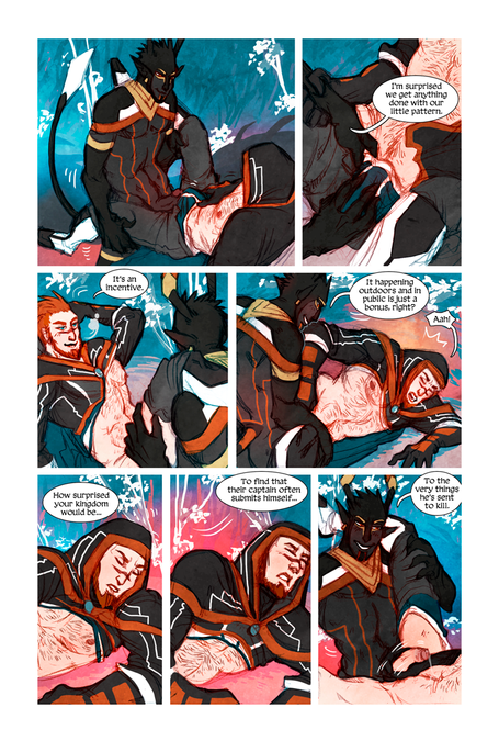 MEN+MONSTERS #1 page 27