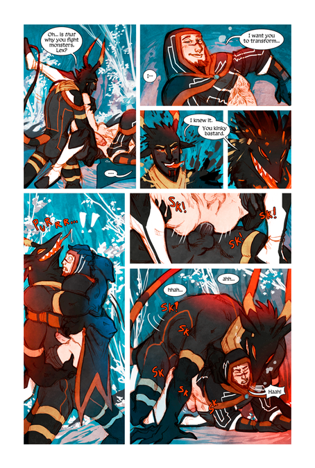 MEN+MONSTERS #1 page 28