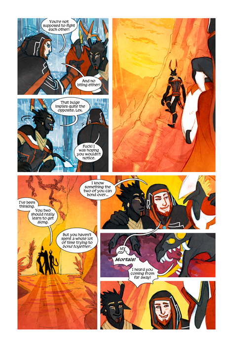 MEN+MONSTERS #1 page 20