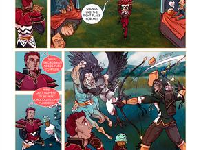 SWORD KINGS #1 page 23