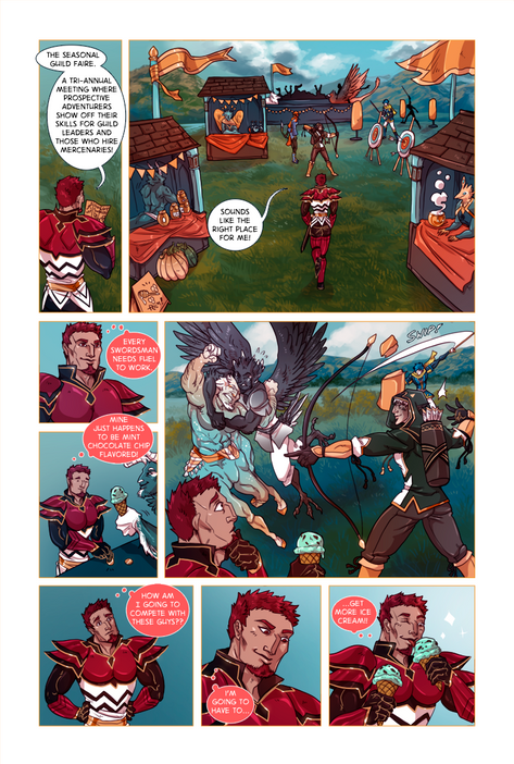 SWORD KINGS #1 page 23