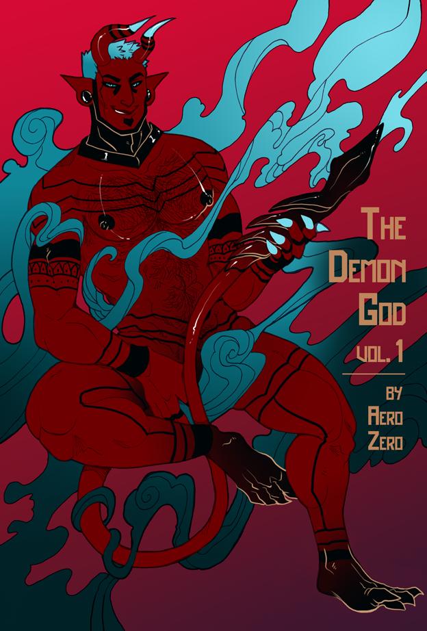 The Demon God 1 cover copy
