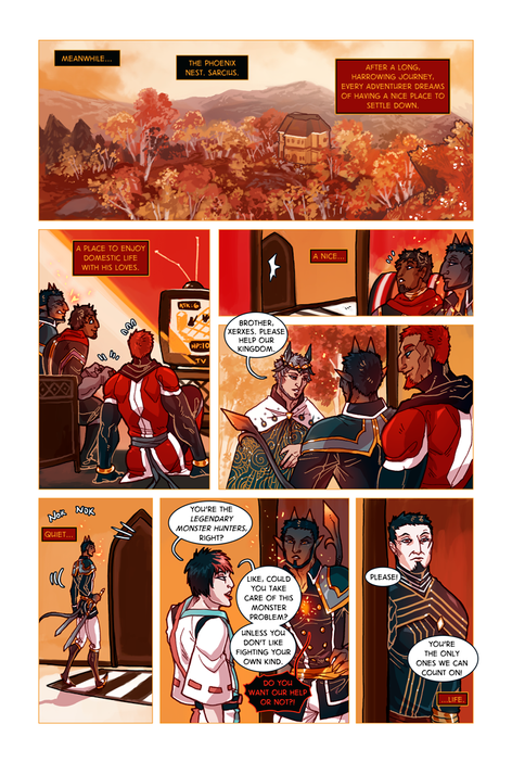 SWORD KINGS #1 page 14