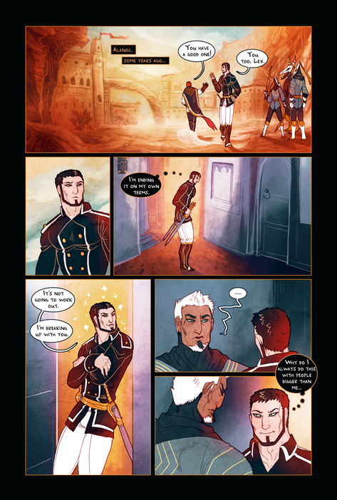 KNIGHT OF ALANOC page 1