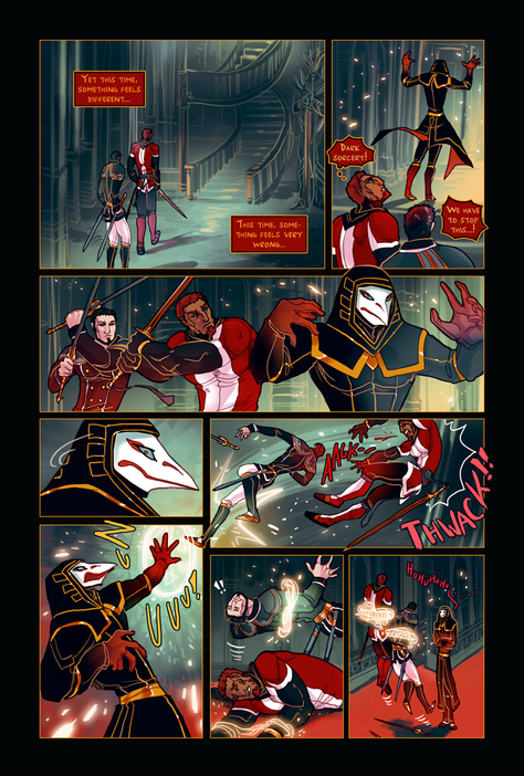 ACE OF BEASTS #1 page 5