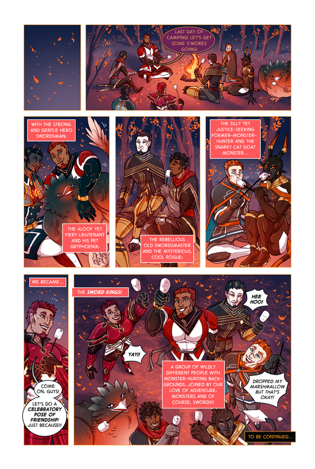 SWORD KINGS #1 page 35