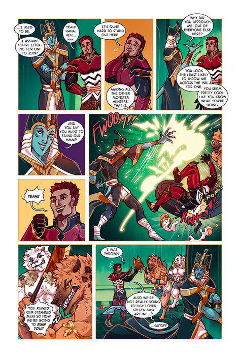 SWORD KINGS #1 page 11