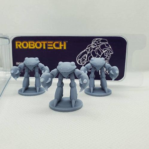 30mm Invid Trooper Resin Mini Figure - 3 pack