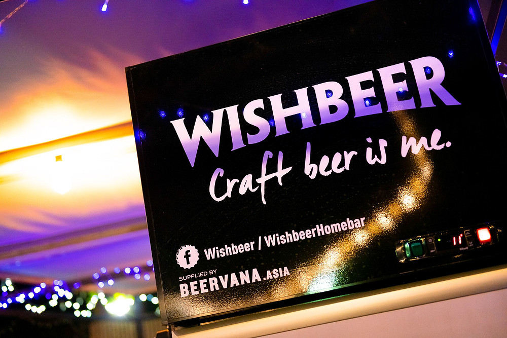 Wishbeer at the Marriott Executive Apartments Sathorn Vista Bangkok.