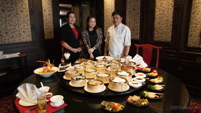 All-YOU-CAN-EAT DIM SUM BUFFET! Sui Sian at The Landmark Bangkok - New Images!