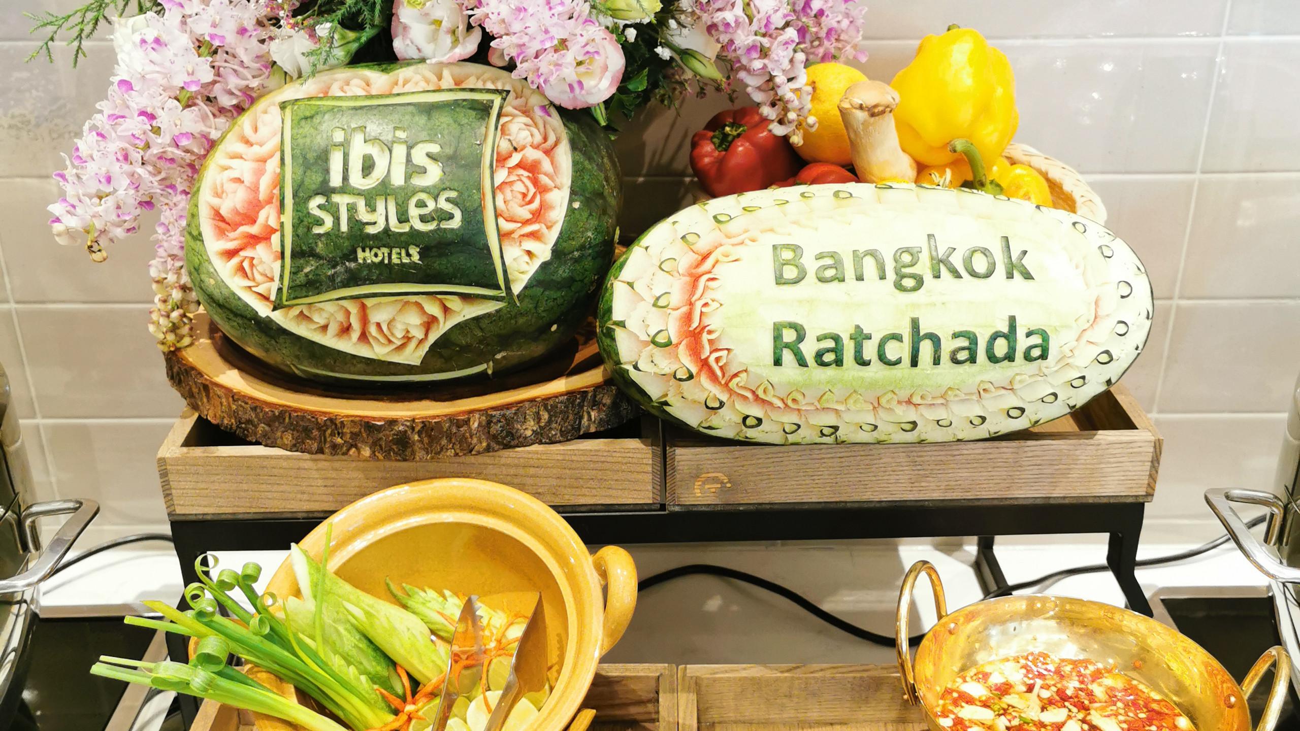 Bedroom at Ibis style Bkk Rachada