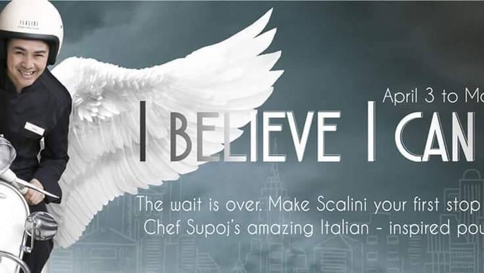 """Scalini at the Hilton Sukhumvit Bangkok's new """"I Believe I Can Fly"""" Menu Is Uplifting!"""