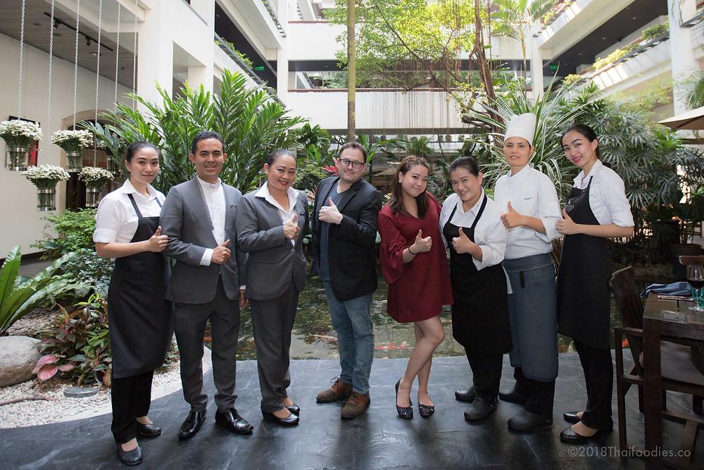 Anantara Siam Bangkok Hotel Sunday Brunch