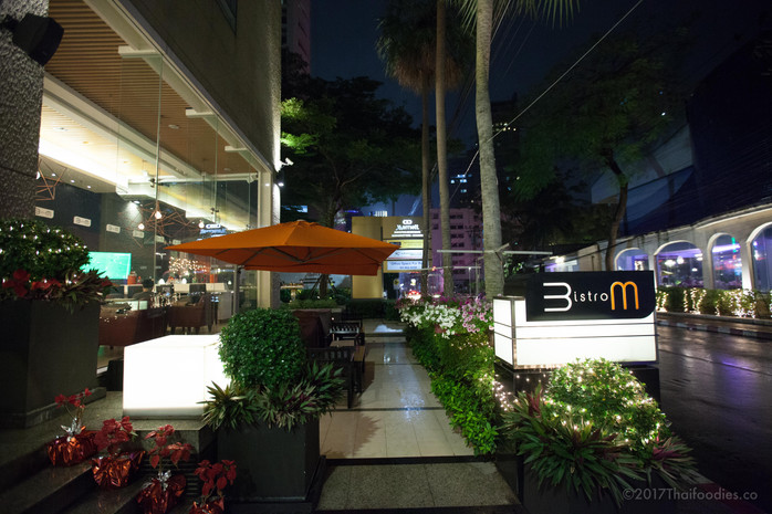 """Bistro M's """"Barbeque Dinner on the Terrace"""" at Marriott Executive Apartments Sukhumvit"""