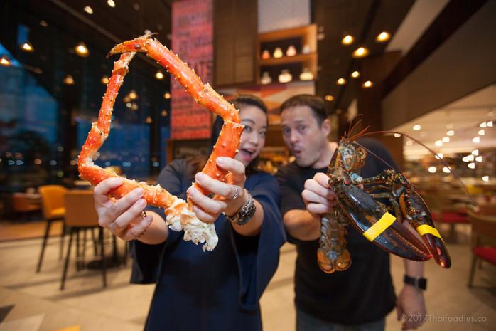 Amaya Food Gallery at Amari Watergate Bangkok - Friday Seafood Buffet - Win a Free Buffet with Thaif