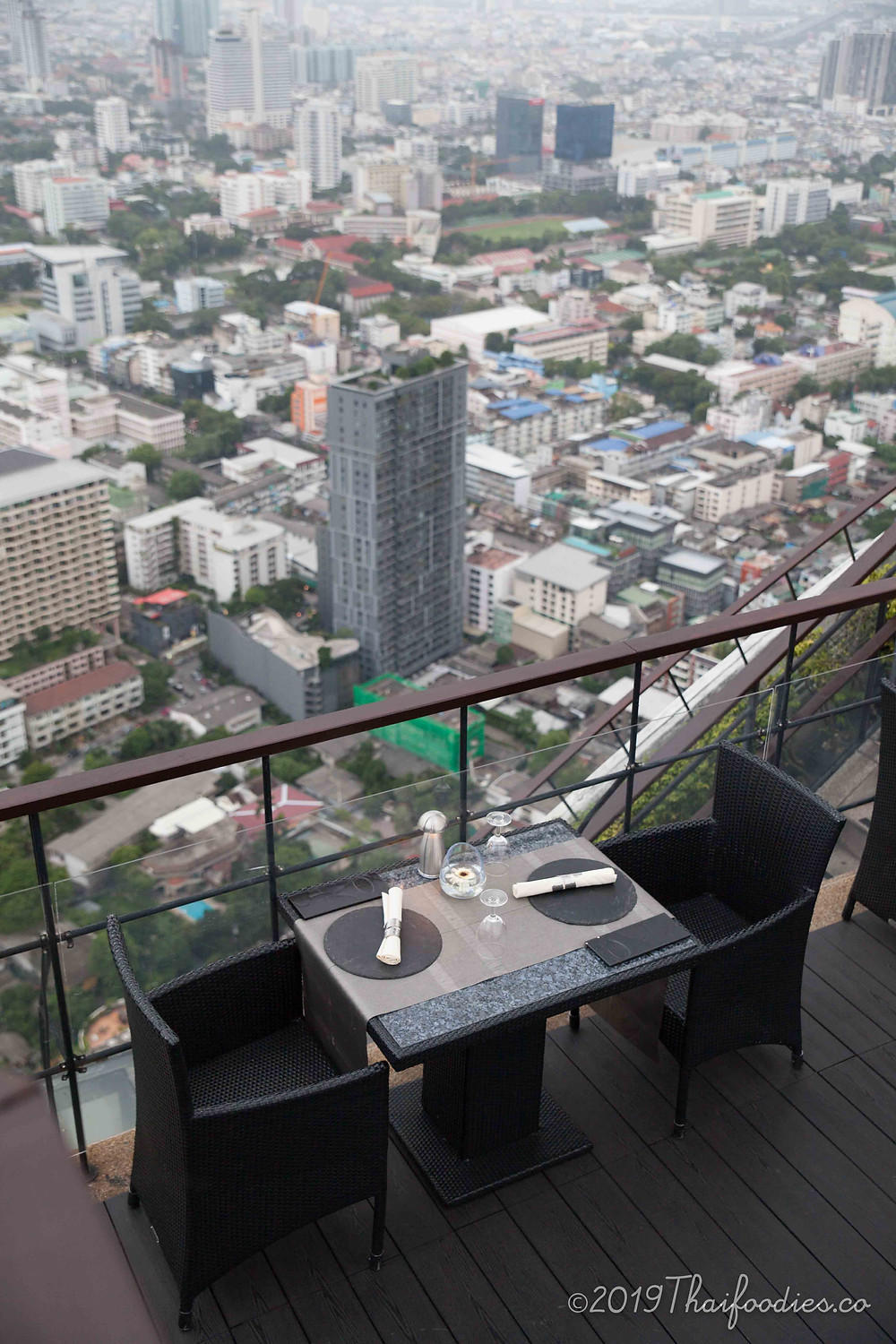 Vertigo & Moon Bar - Rooftop at Banyan Tree Bangkok Review