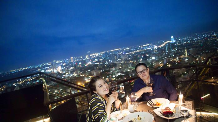 Vertigo and Moon Bar - Rooftop at Banyan Tree Bangkok Review