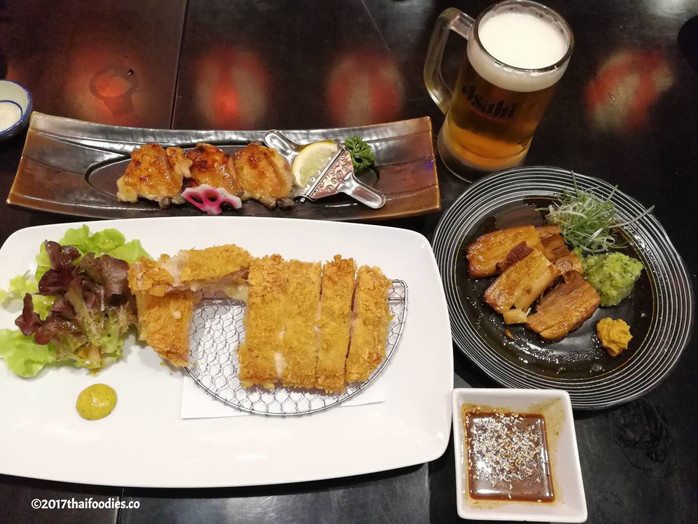 Cheap Beer Buffet and Tasty Japanese Food at Aji Restaurant Big C Ekamai