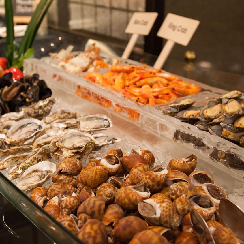 Atrium Crab and Seafood Buffet