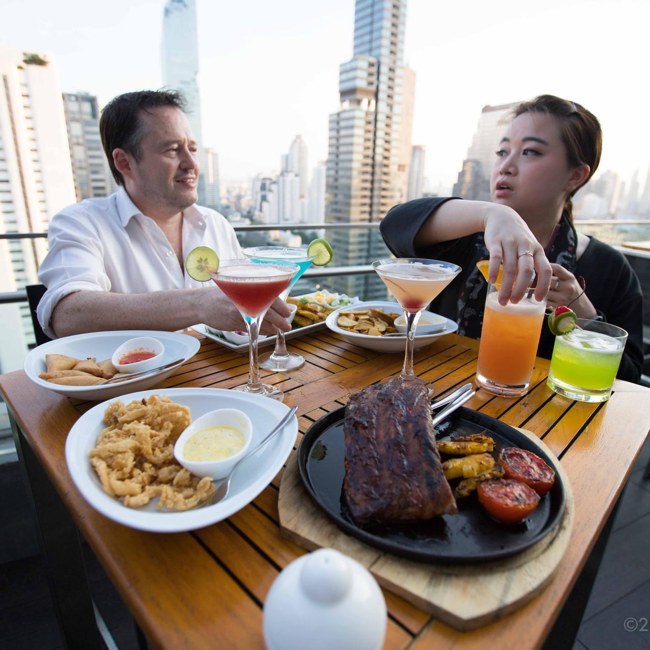 Aka Aza Rooftop Bar Review