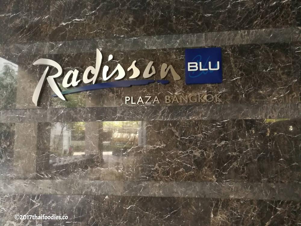 Radisson Blu Plaza bangkok |thaifoodies.co
