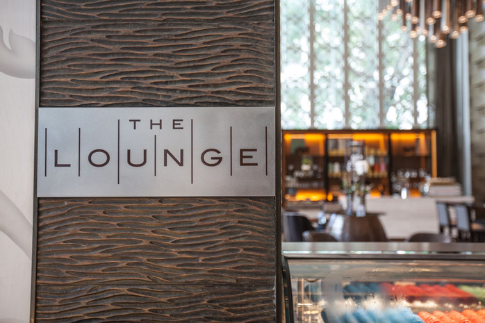 The St Regis Bangkok's  - The Lounge - An Relaxing Destination for Luxurious Food and Drink.