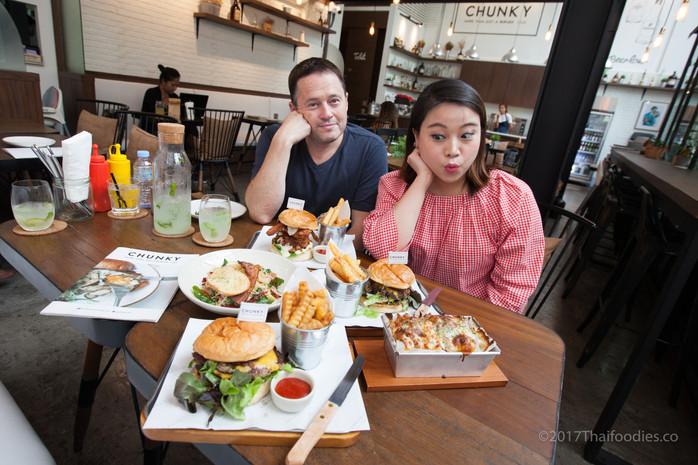 Chunky Bangkok - Fantastic Gourmet Burgers and More in Sukhumvit Soi 23.