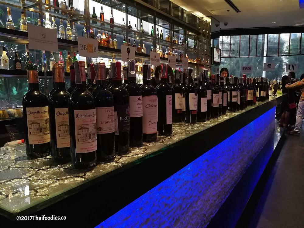 Landmark Bangkok Wine Tasting | thaifoodies.co