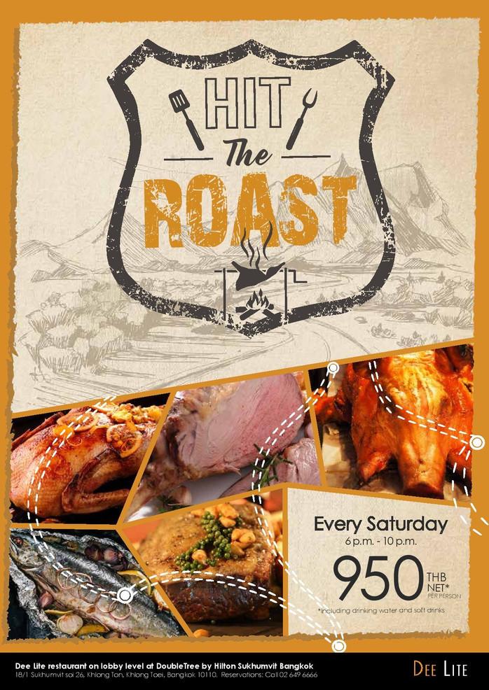 """Hit The Roast"" Buffet by Deelite at Doubletree by Hilton Sukhumvit Bangkok - Review"