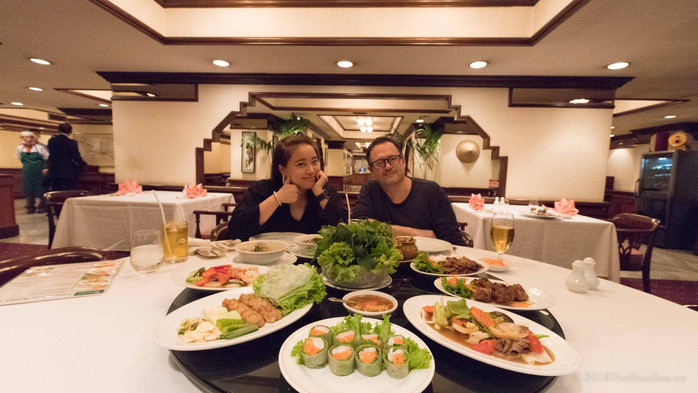 Saigon Vietnamese Restaurant Bangkok Review – All You Can Eat Buffet only 650 Baht Net – Come 4 Pay