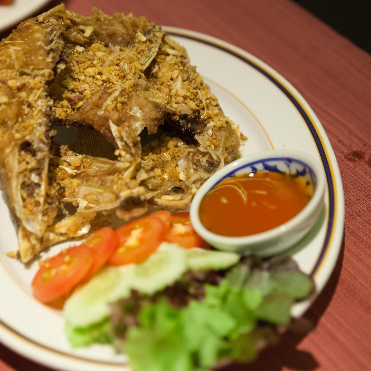 Deep Fried Grouper