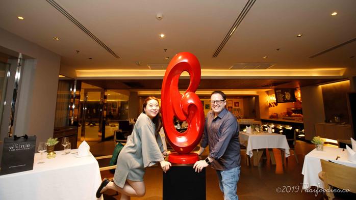 Crazy Thai Food Combo! - Som Tam and Chardonnay at Akyra Thonglor Bangkok Hotel - Food and Room Revi