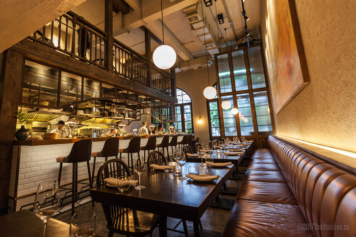 Contemporary Bangkok Cuisine at Canvas in Thonglor