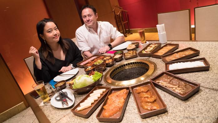 Pathumwan Princess Hotel Bangkok's Kongju Korean Restaurant's 850 Baht Buffet Review