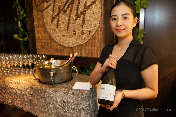 Bar@494 at the Grand Hyatt Erawan - Emiliana Organic Vineyards - Chilean Wine Tasting