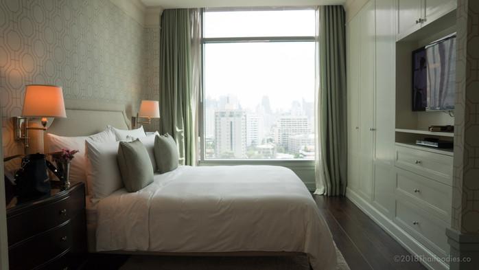 Oriental Residence Bangkok - One Bedroom Suite Review - Room #1103