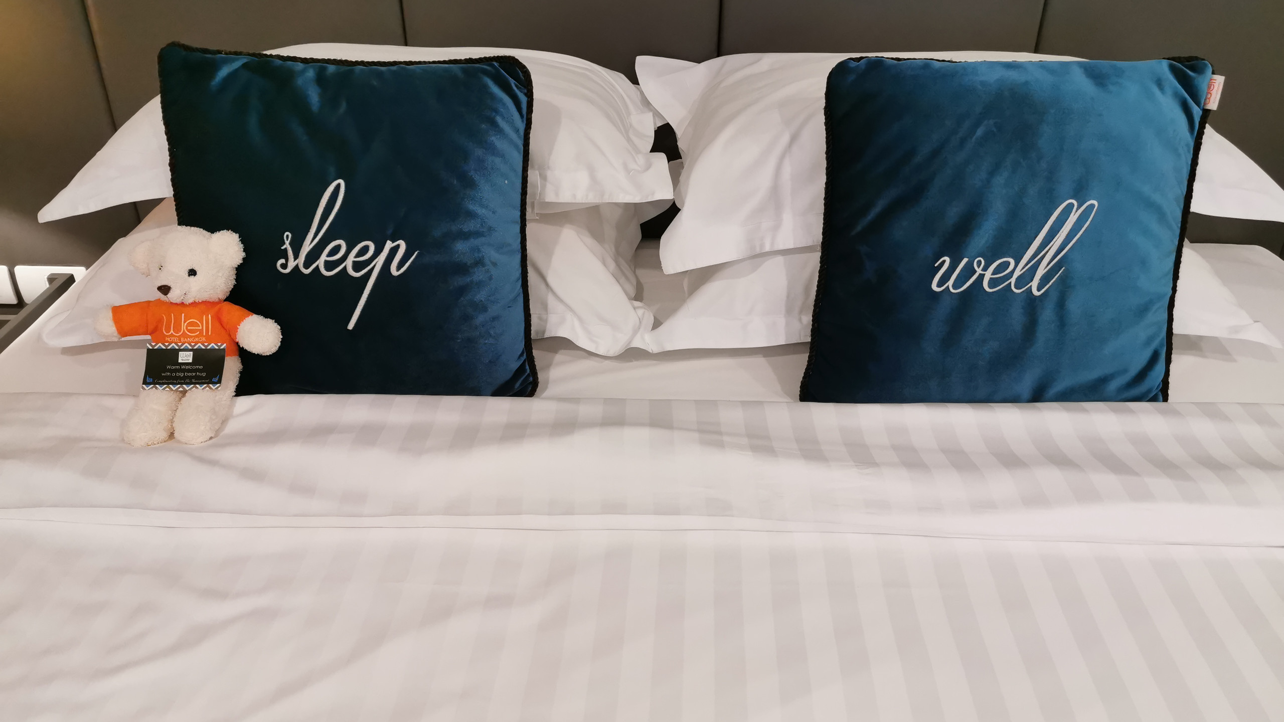 Comfy Bed at Well Hotel Bangkok