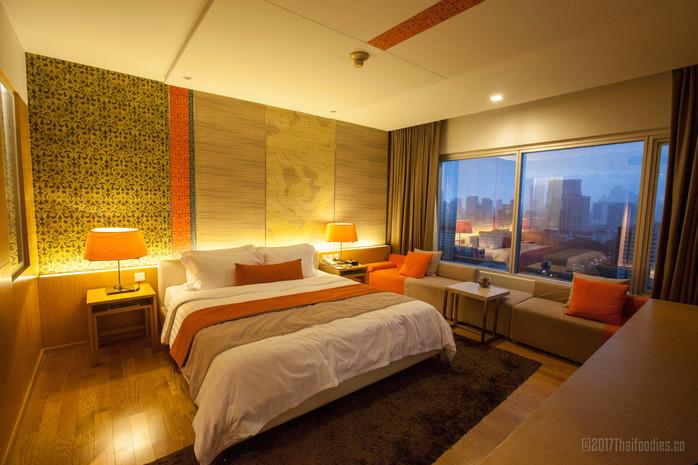 Pathumwan Princess Hotel Bangkok - Room Review Premium Deluxe - NEW 2017