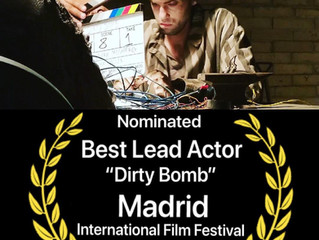 Ido got nominated for BEST LEAD ACTOR in Madrid International Film Festival in July!