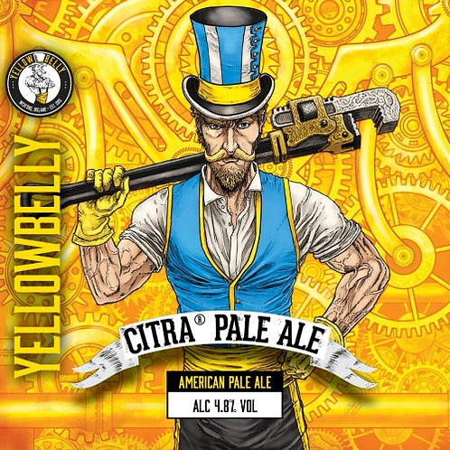 Yellowbelly Citra Cans 440ml (12 pack)