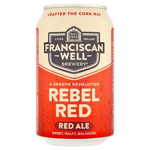 Rebel Red 330ml Can (24 pack)