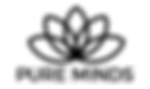 Pure Minds Black Logo with Name.png