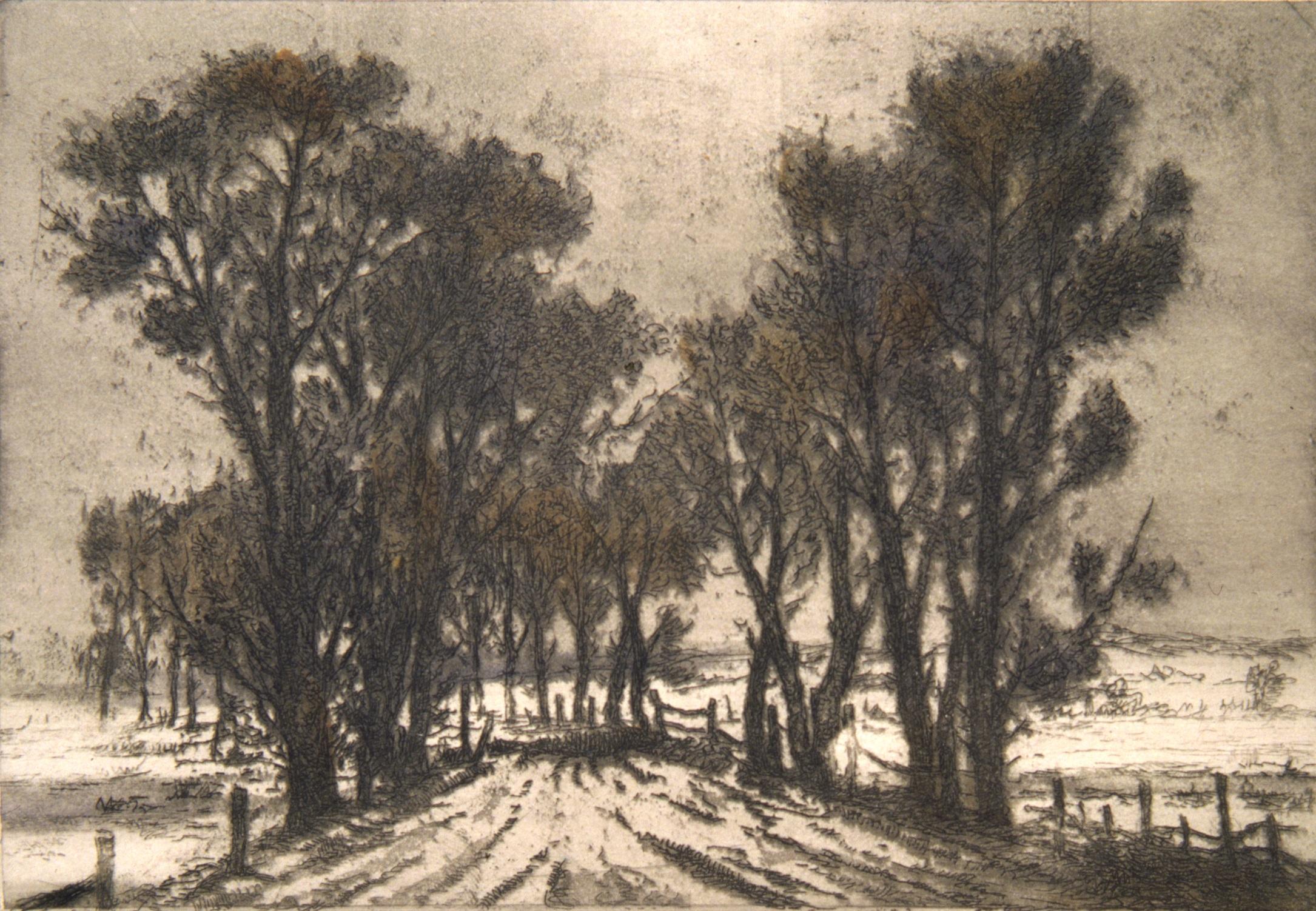Дерегус. Гребля у Гамарні. 1941
