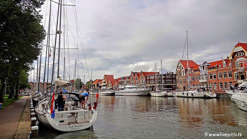 Hoorn old harbor