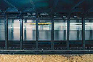 photo of NYC subway